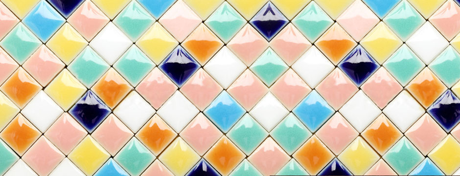モザイクタイルって素敵!Uchimiseでみつけた造作洗面台