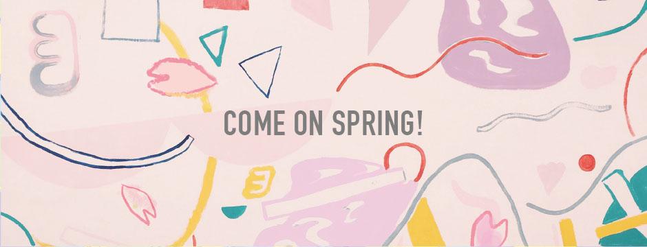 う、ふ、ふ、な春のむかえかた♪